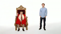 "Apple ""Get a Mac"" Ad: Throne"