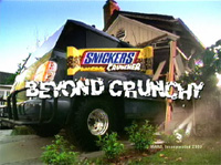 Snickers Cruncher: Biggest S.U.V.