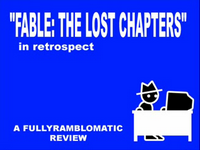 Zero Punctuation: Fable- The Lost Chapters