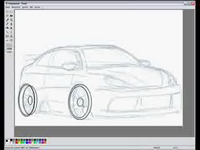 Guy draws a car in MS Paint-thumbnail