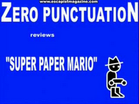 Zero Punctuation: Super Paper Mario-thumbnail